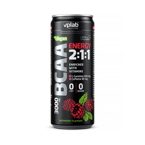 VP BCAA Energy 2:1:1 / 0,33л / малина