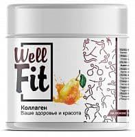 Well Fit Коллаген / 200г / апельсин