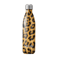 VP Metal Water bottle / 500мл / Leopard