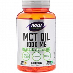NOW MCT Oil 1000мг / 150капс