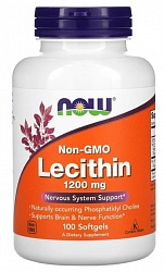 NOW Lecithin 1200мг / 100капс